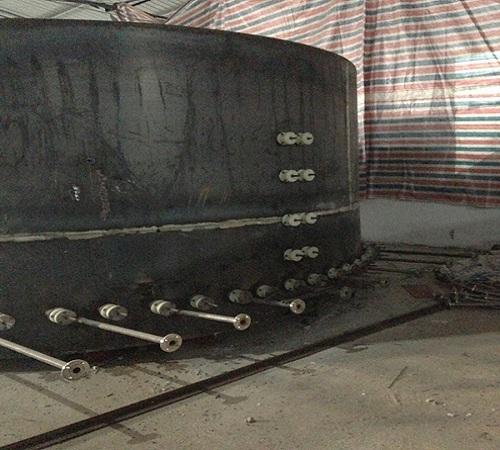 井式氮气气fen炉anzhuang施工