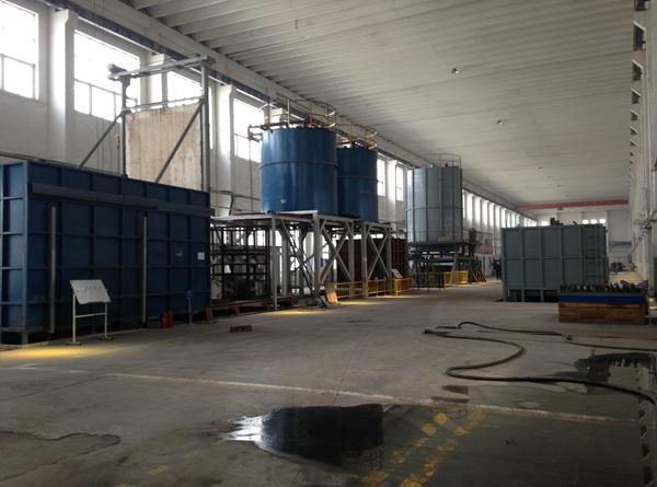 铝合金固溶炉安装施工