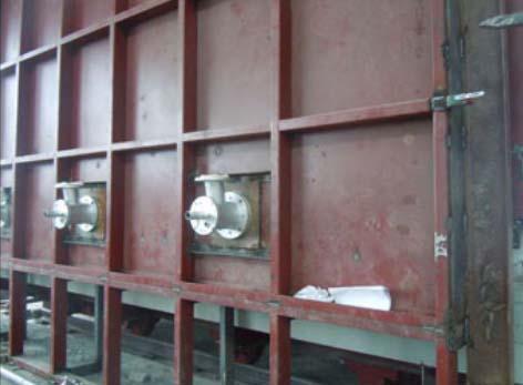 天然气热处理炉安装调试