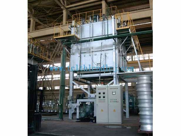 此图为丹阳市电炉厂有限公司的铝合金固溶热处理炉