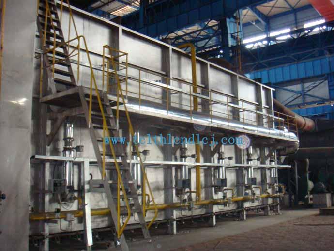 此图为丹阳市电炉厂的天然气退火炉图